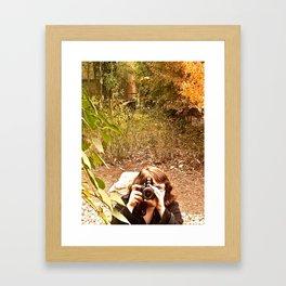angle in the jangle Framed Art Print