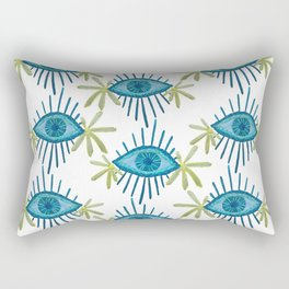 Starry Eyes & Daisies Rectangular Pillow