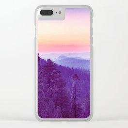 Sherbet Dreams Clear iPhone Case
