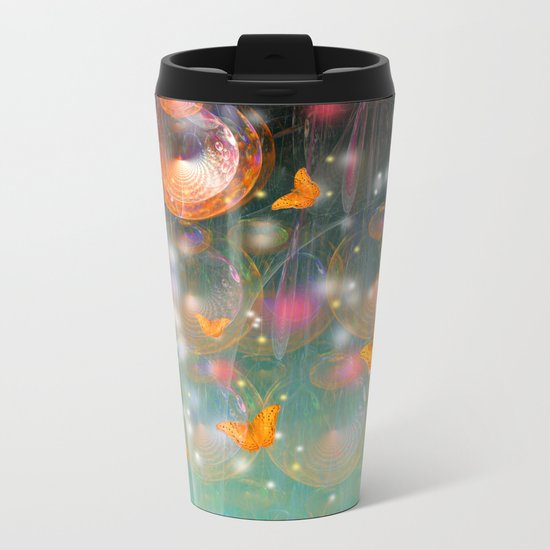 Entrance to the faerie worlds Metal Travel Mug