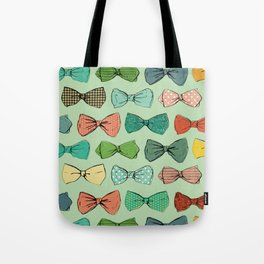 All the Bow Ties Tote Bag