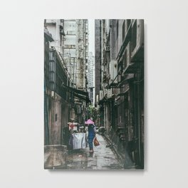 HONG KONG III Metal Print