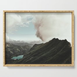 Far Views - Landscape Photography Serving Tray