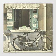 Burano Bicycle Canvas Print