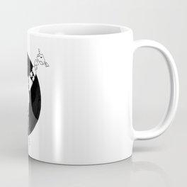 Robo-Giraffe | @makemeunison Hand Drawn Art Coffee Mug