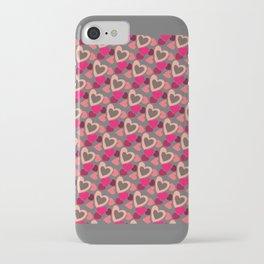 Valentine's Day patern iPhone Case