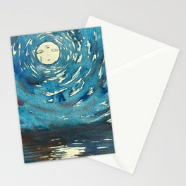 Psychic Moon Stationery Cards