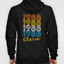 29th Birthday Gift Vintage 1988 T-Shirt for Men & Women T-Shirts and Hoodies Hoody