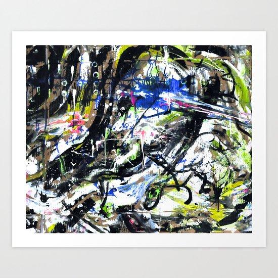 Downtempo Station // Pandora Radio Art Print
