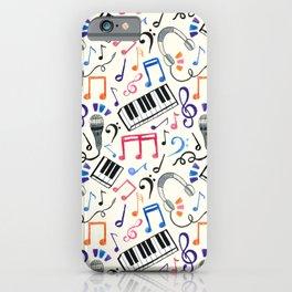 Good Beats - Music Notes & Symbols iPhone Case