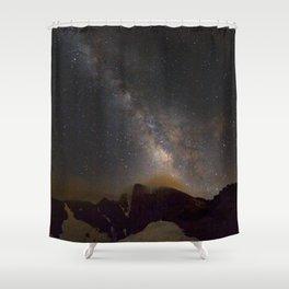 Milky way at 3400 meter hight. Scorpius and Sagitarius Shower Curtain
