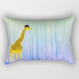 Dapper Giraffe Rectangular Pillow