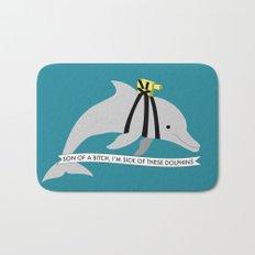 Zissou Dolphin Bath Mat