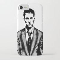 tyler durden iPhone & iPod Cases featuring Tyler Durden by Shahbab