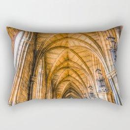Southwark  Cathedral London Rectangular Pillow