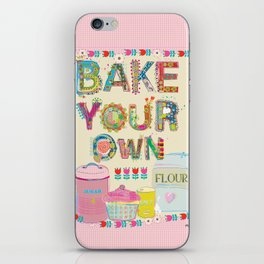 Bake Your Own iPhone Skin