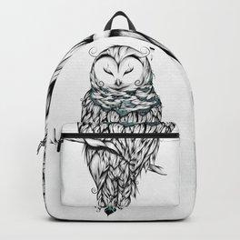 Poetic Snow Owl Backpack