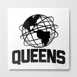 Queens NYC Metal Print