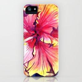 Tropical Hibiscus 13 iPhone Case