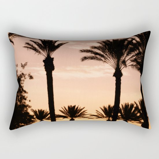 Farewell California Rectangular Pillow