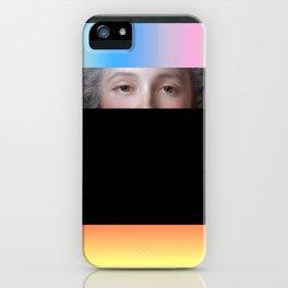 Composition 0152018 iPhone Case