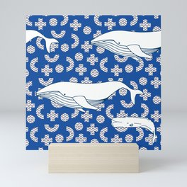 Memphis Ocean #1 Mini Art Print