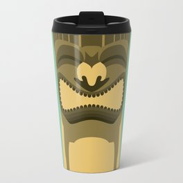 Brown Tiki Travel Mug