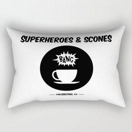 Superheroes and Scones Rectangular Pillow