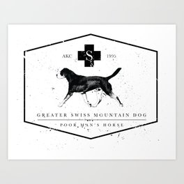 GSMD label Art Print