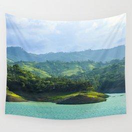 Presa Taveras - Dominican Republic Wall Tapestry