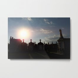 A Resting Place For Spirits Number 1 New Orleans 1 Metal Print