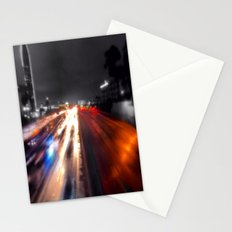 Downtown lights Stationery Cards