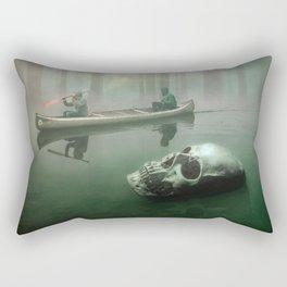Skull River Rectangular Pillow