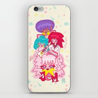 jem iPhone & iPod Skins featuring fanart Jem and the Holograms by Lady Love