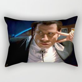 Vincent Vega Rectangular Pillow