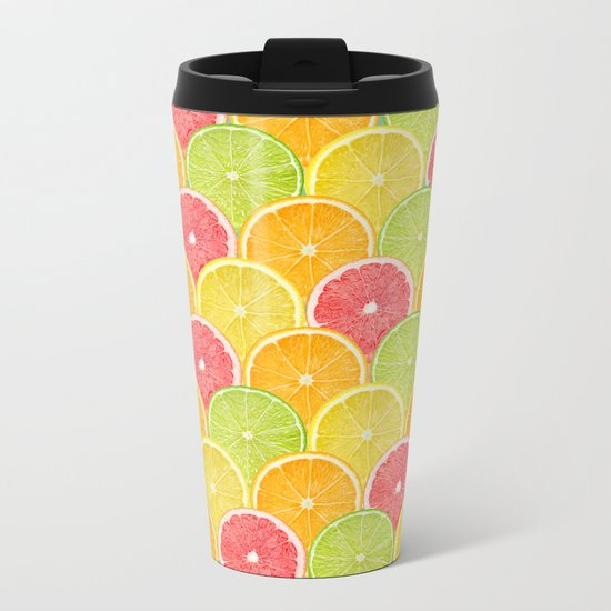 fresh fruit Metal Travel Mug