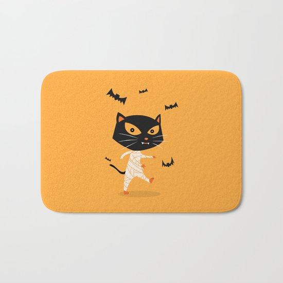 Mummy Cat Bath Mat