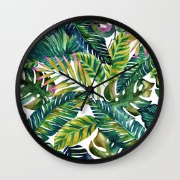 banana life Wall Clock