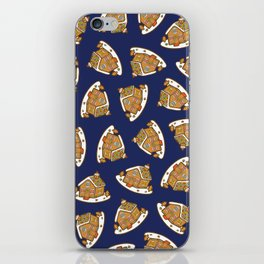 Gingerbread House Pattern - Christmas Eve iPhone Skin