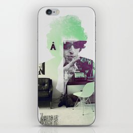 Bob Dylan Psychedelic iPhone Skin