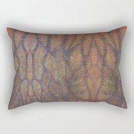 B skin texture Rectangular Pillow