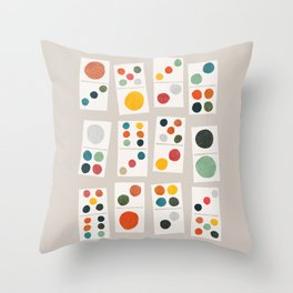 Domino Throw Pillow