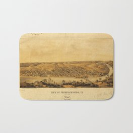 View of Fredericksburg, Virginia (Nov. 1862) Bath Mat