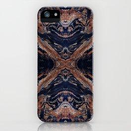 Golden Magma iPhone Case