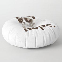 GRUMPY CAT - Nope (version 2) Floor Pillow
