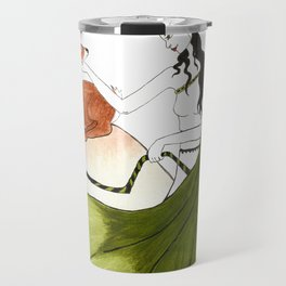 The Lady Artemis, The Goddess of the Hunt Travel Mug