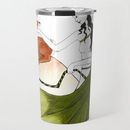 The Lady Artemis, The Goddess of the Hunt Travel Mug