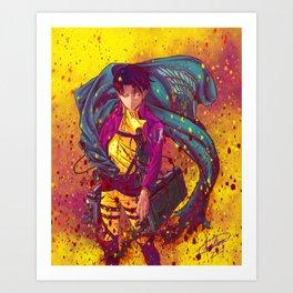 Attack On Titan Fanart - Levi Ackerman (Version 1/5) Art Print