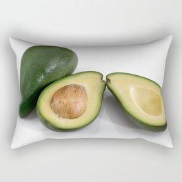 avocado fruit Rectangular Pillow