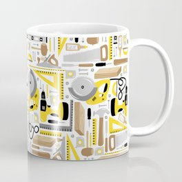 Measure Twice, Cut Once Coffee Mug